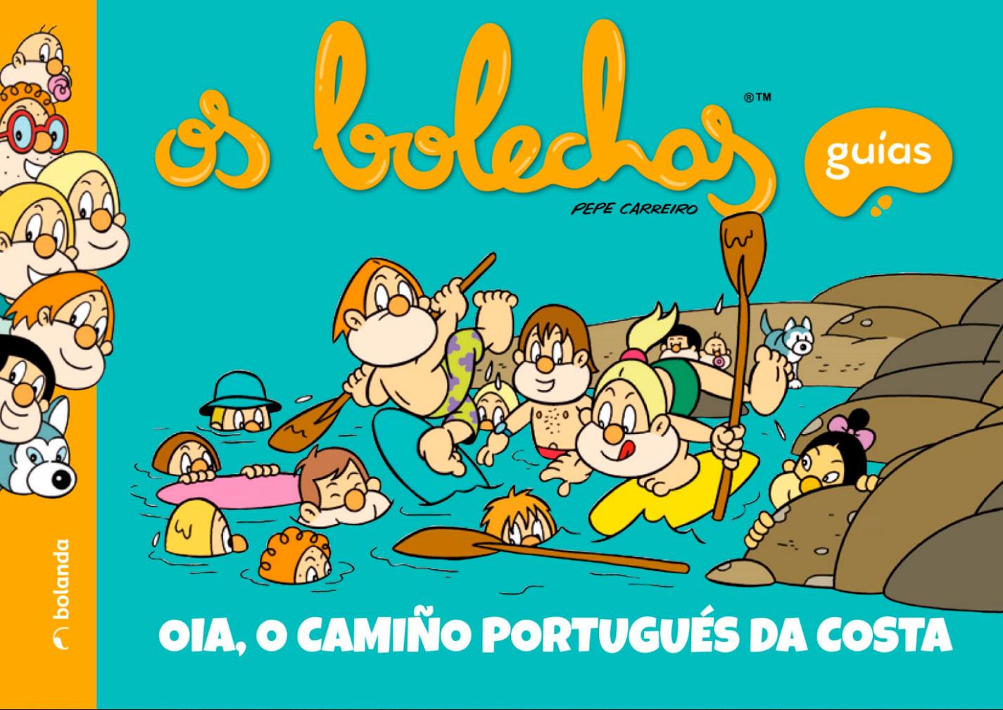 """O Concello edita o libro dos """"BOLECHAS: OIA, O CAMIÑO PORTUGUÉS DA COSTA"""""""