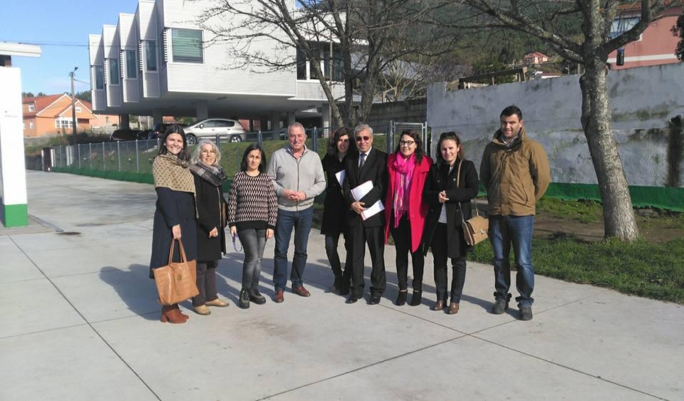 Visita do executivo de Oiã para organizar o II Intercambio Cultural escolar