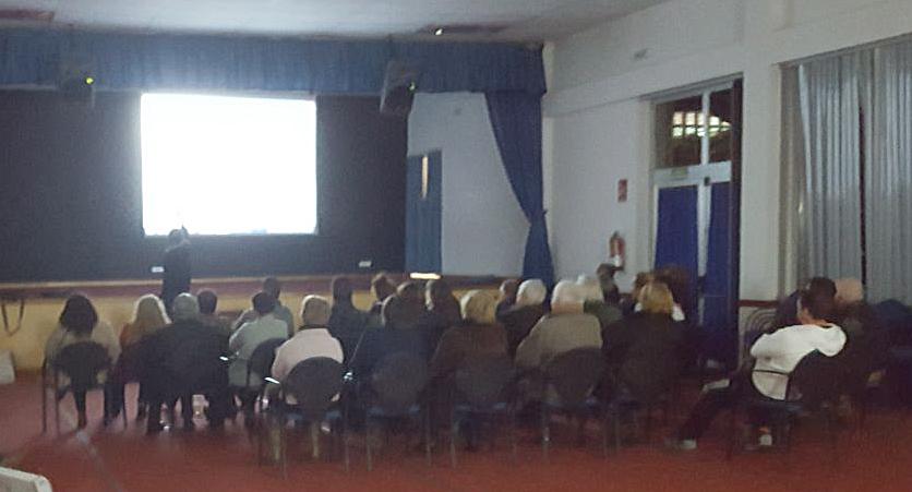 Reunión en Mougás para dar a coñecer o anteproxecto do camiño de Lourido