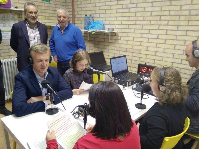 Radio Arrabal entrevistou a Alfonso Rueda, Vicepresidente da Xunta de Galicia