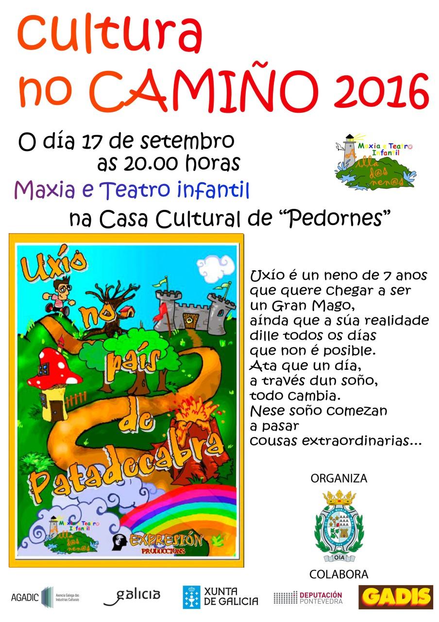 Maxia e Teatro infantil en Pedornes