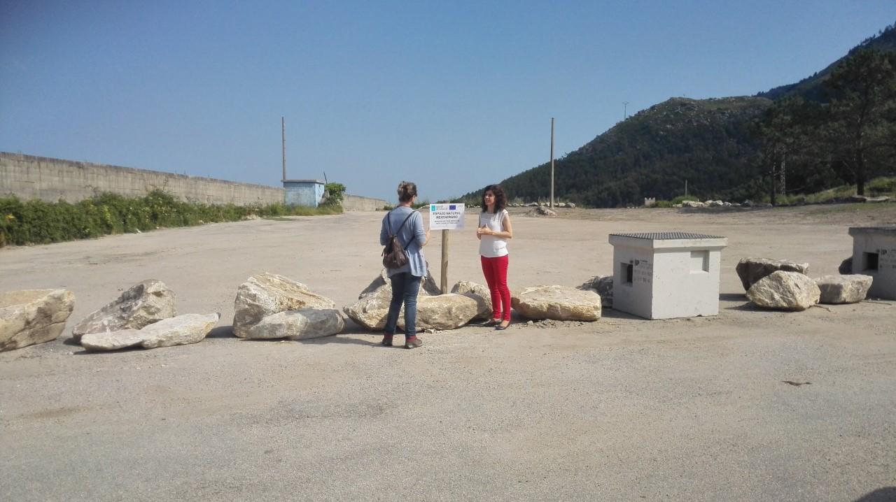 Eliminado o punto de vertido incontrolado no Concello de Oia, en O Cabezo-Mougás