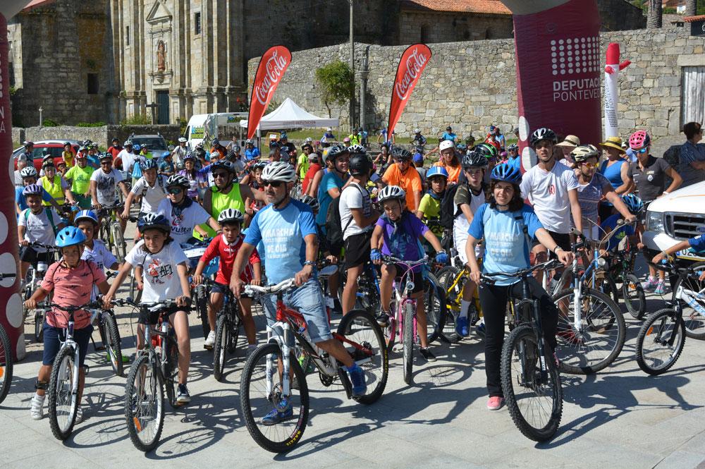 Magnífica asistencia a Festa da bicicleta