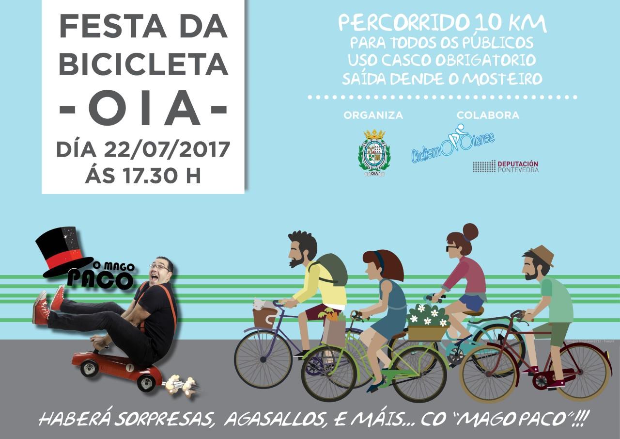 Festa da bicicleta en Oia