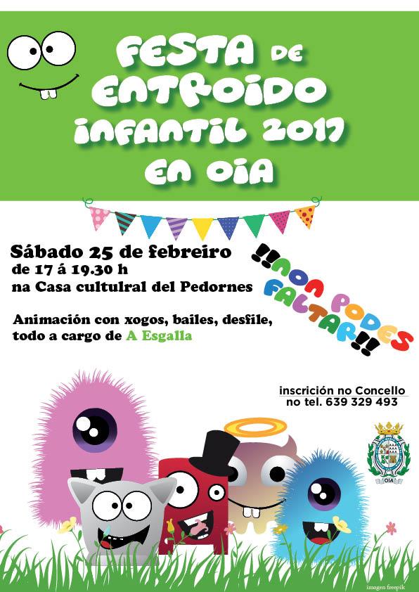 Festa de Entroido infantil 2017 en Oia