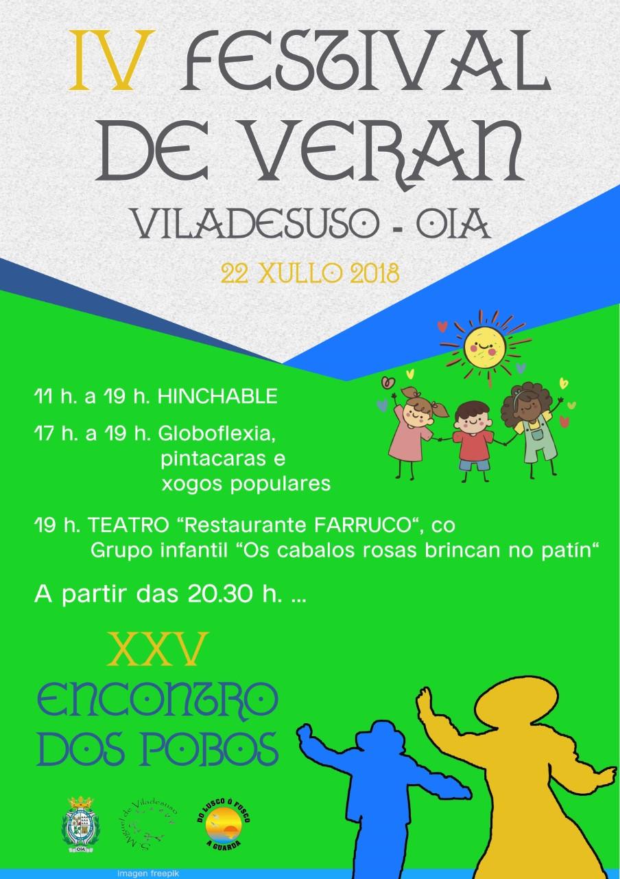IV Festival de verán en Viladesuso