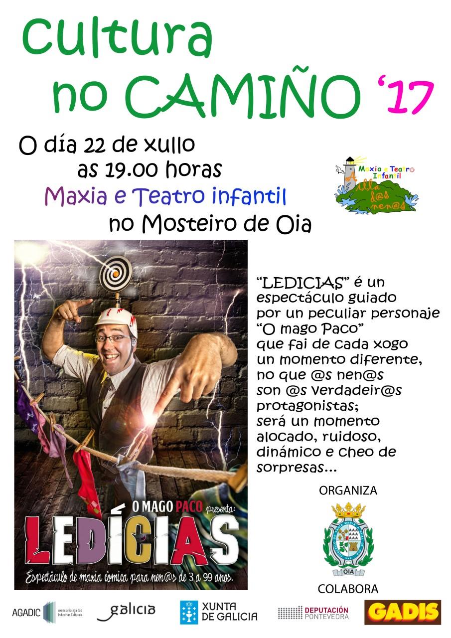 O Mago Paco visita Oia, cita no Mosteiro o 22 de xullo, as 19.00 h