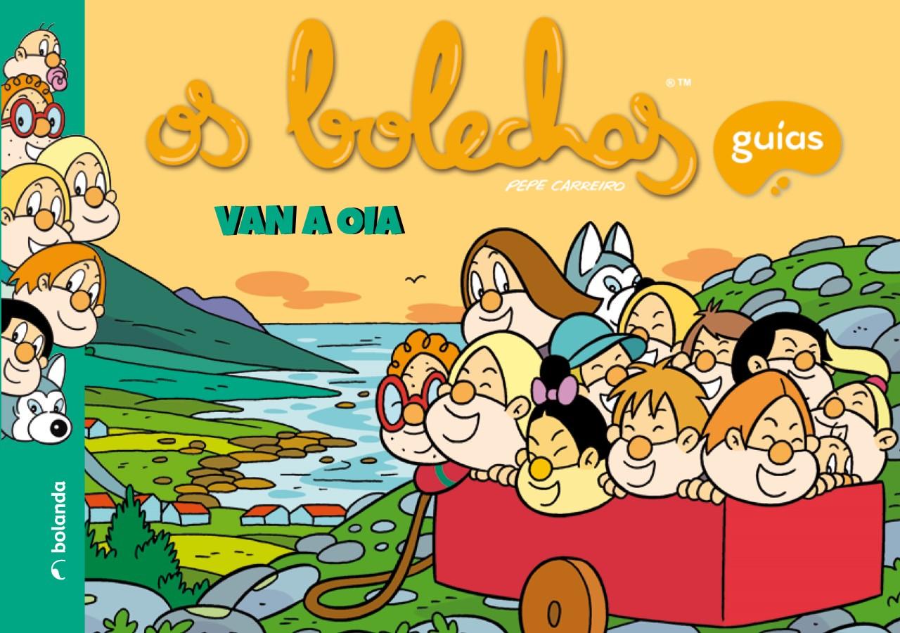 """O Concello de Oia edita o libro """"Os Bolechas van a Oia"""""""