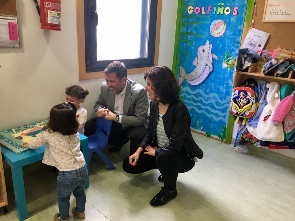 """Oia disporá de 39 prazas na Escola infantil da """"Galiña Azul"""" no curso 2018-2019"""