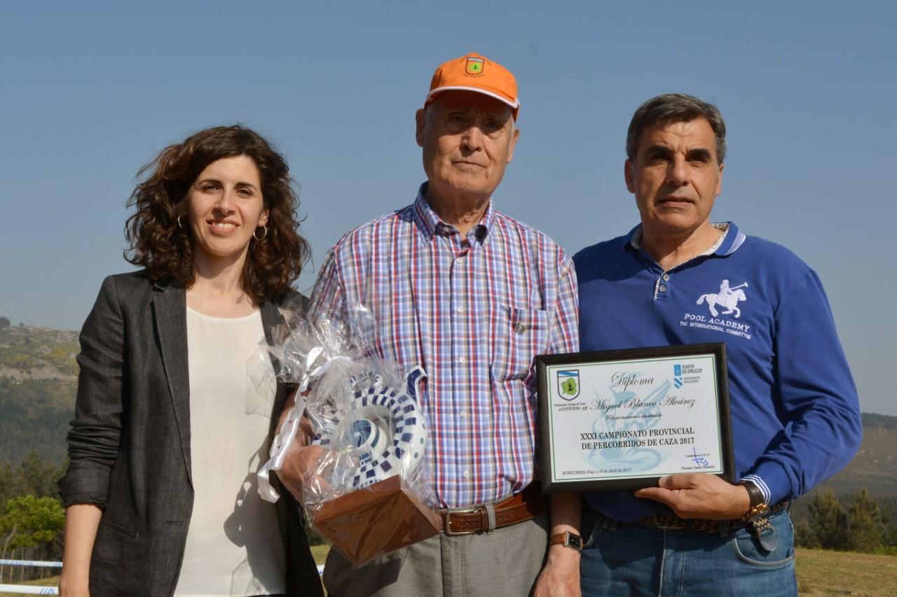 Recoñecemento do Concello de Oia a Manuel Blanco