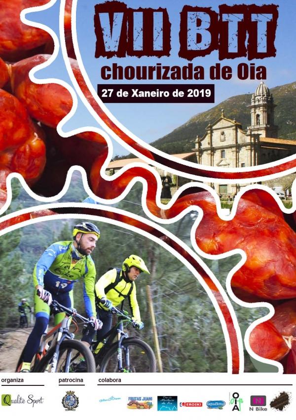 Xa están abertas as inscricións para a VII BTT e IV Andaina Chourizada de Oia