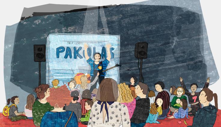 Actuación infantil Pakolas e Cantos de Taberna