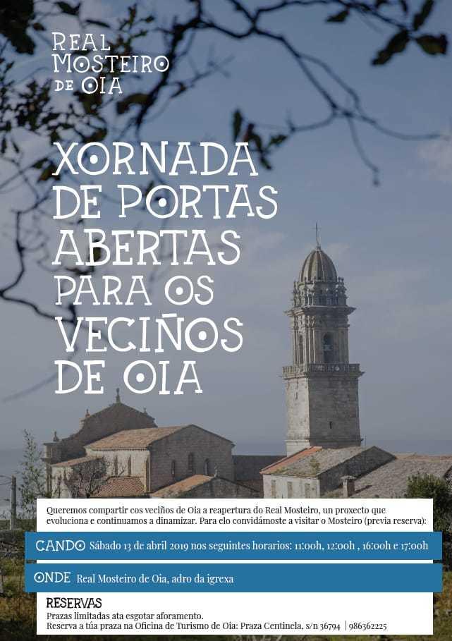 Xornada de portas abertas no Mosteiro para os veciños de Oia