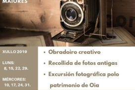 O Concello de Oia organiza un obradoiro xuvenil gratuíto arredor da fotografía antiga