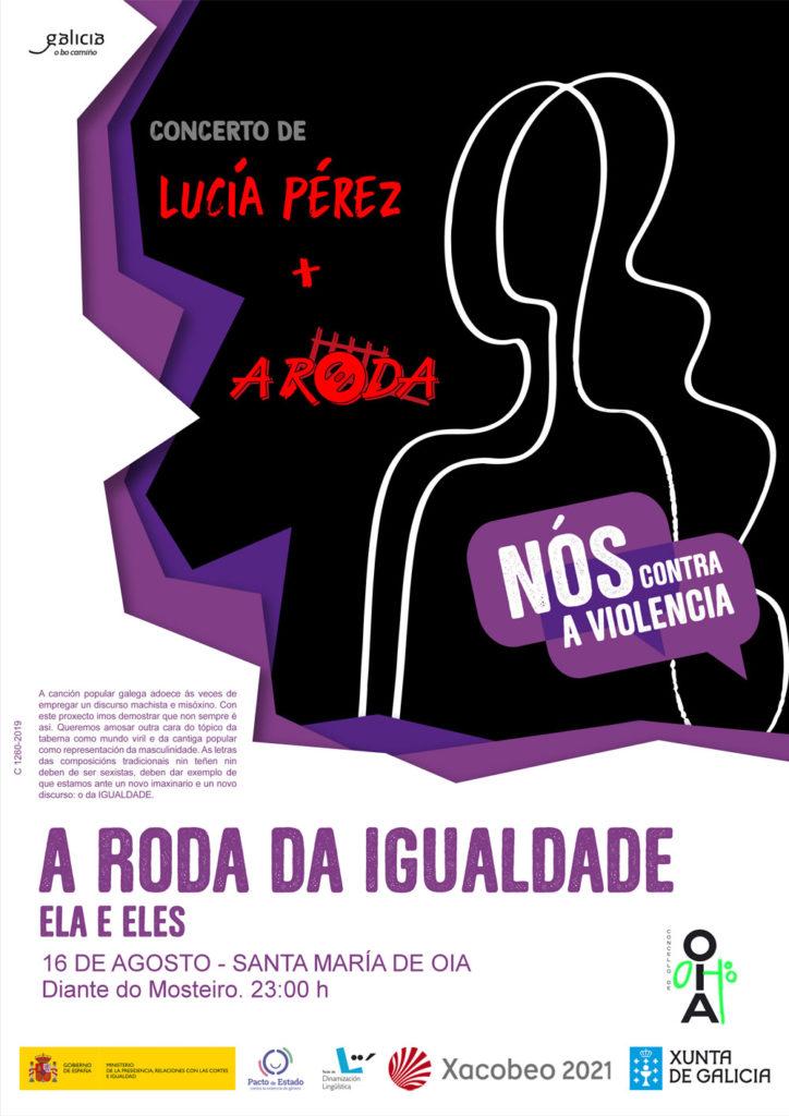 Concerto de Lucía Pérez e A Roda este venres en Oia