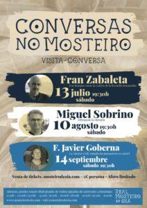 Conversas no Mosteiro: Próxima Conversa con Fernando J. Costas Goberna