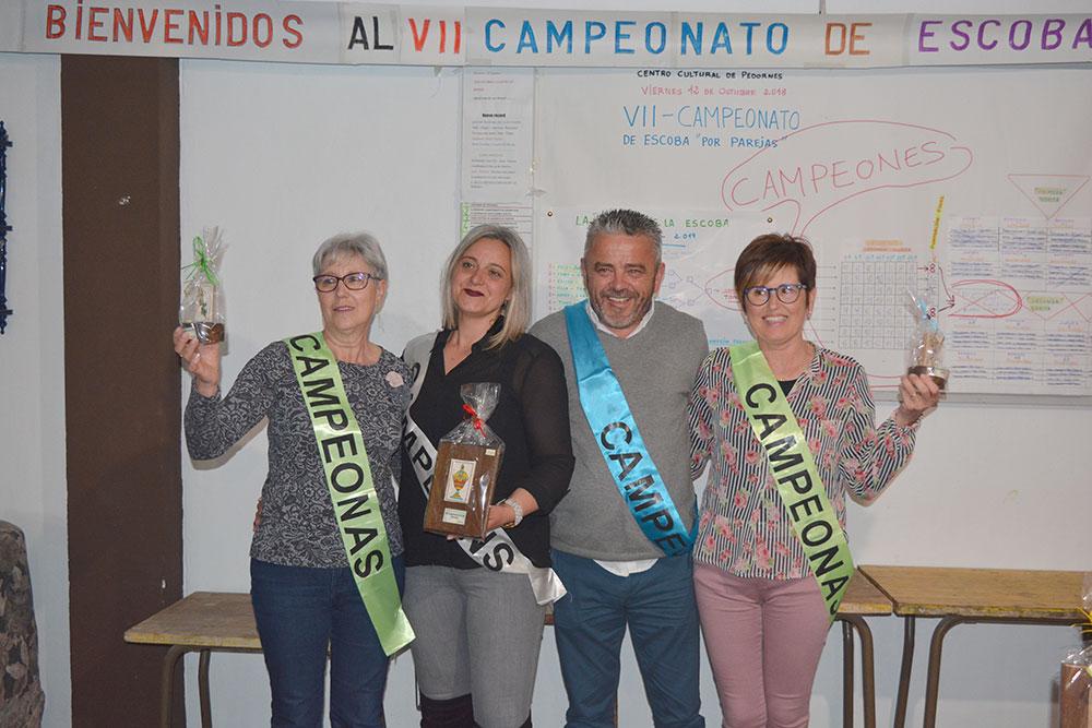 Entrega Premios Campionato Escoba Pedornes