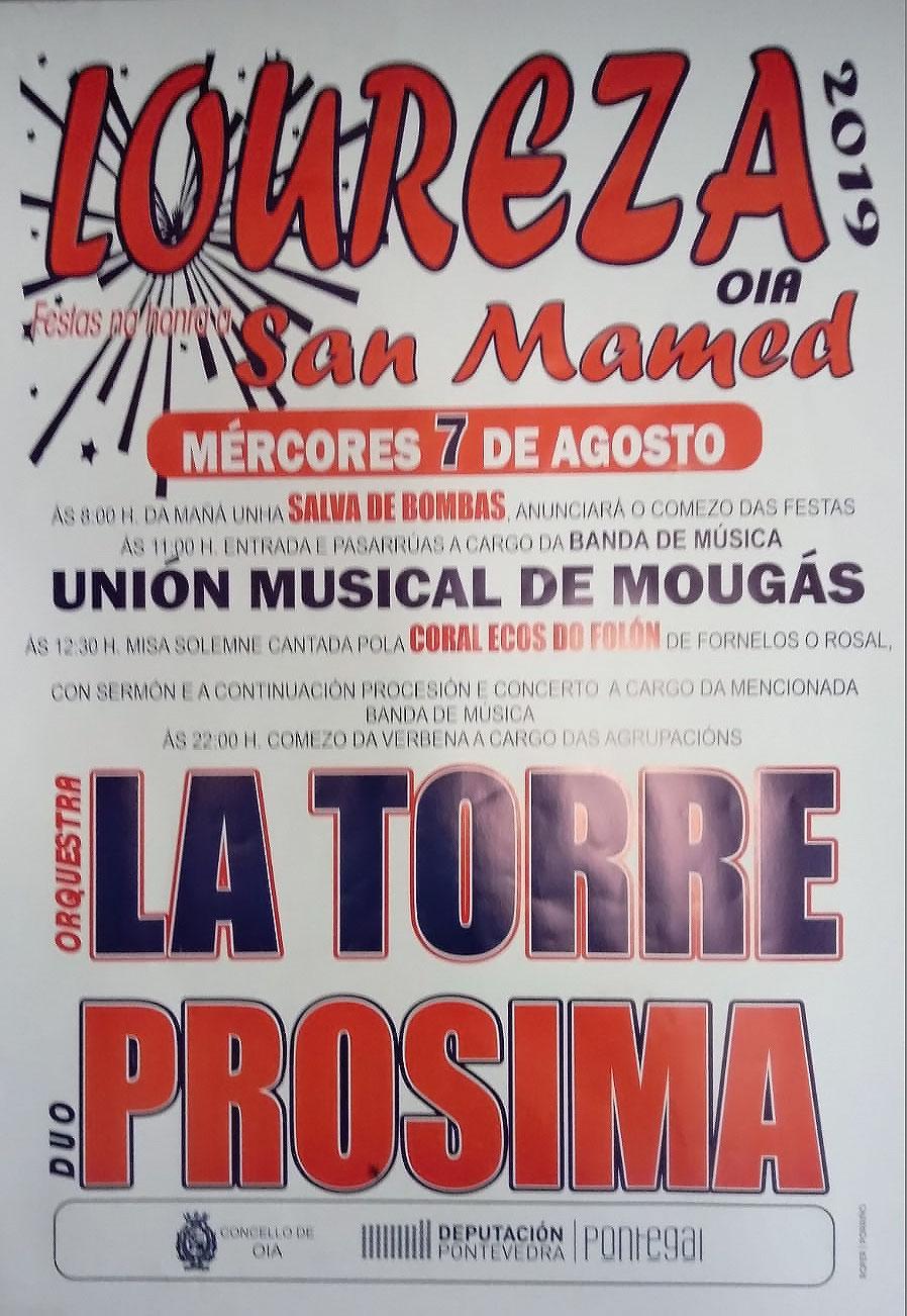 Festas na Honra de San Mamed – Loureza