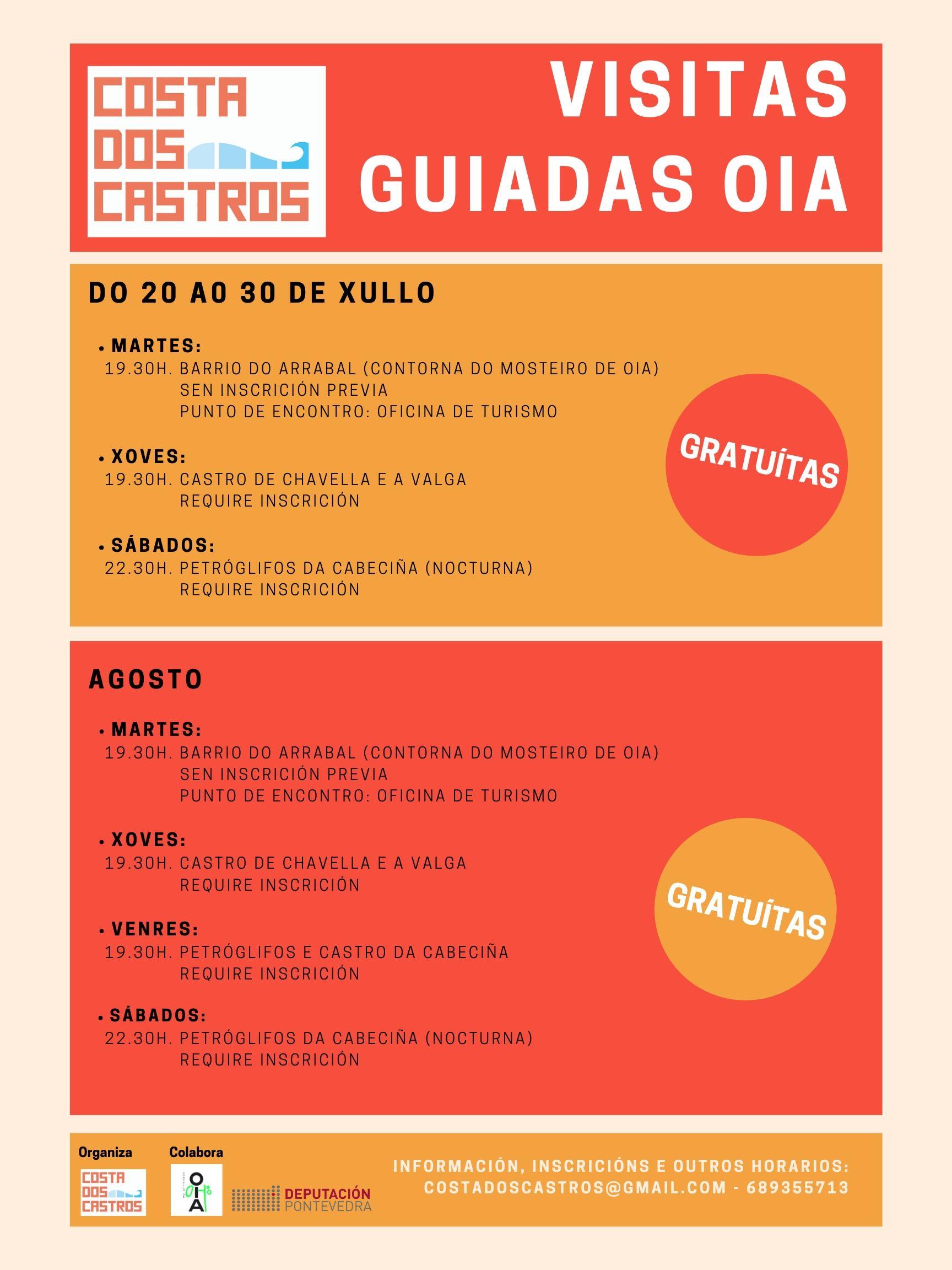 Arranca esta fin de semana a programación de visitas guiadas de Costa dos Castros