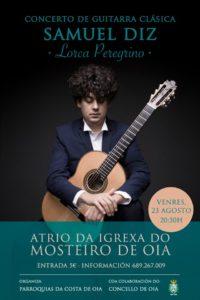 Concerto de guitarra clásica – Samuel Diz