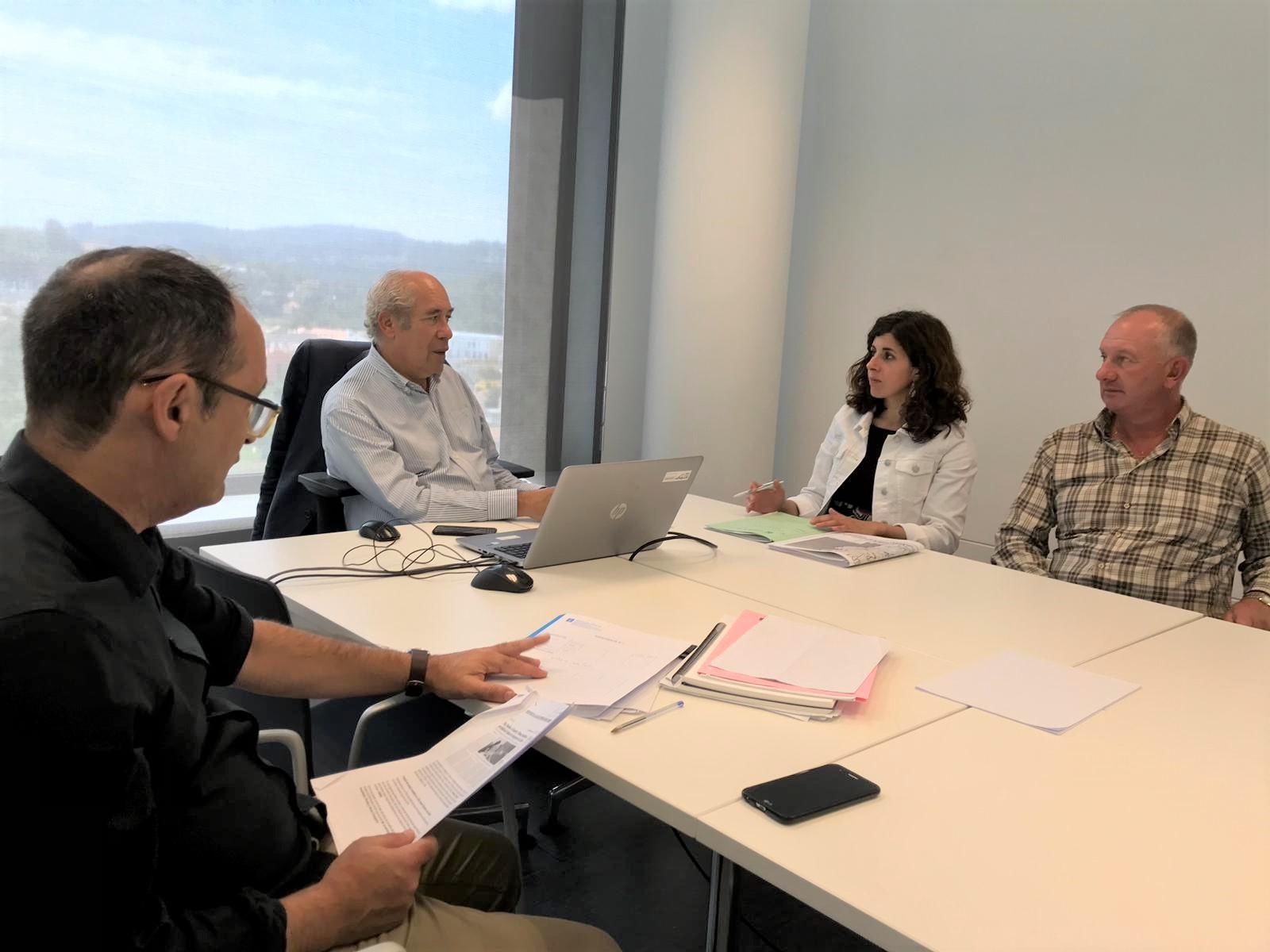 A Xunta analiza cos concellos do Baixo Miño o Plan de Transporte público