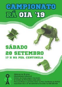 SE APRAZA Campionato de Rá – Oia'19