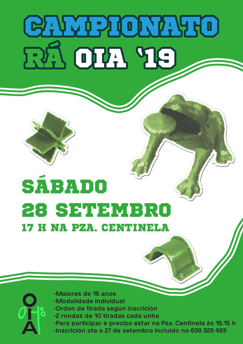 Campionato de Rá – Oia'19