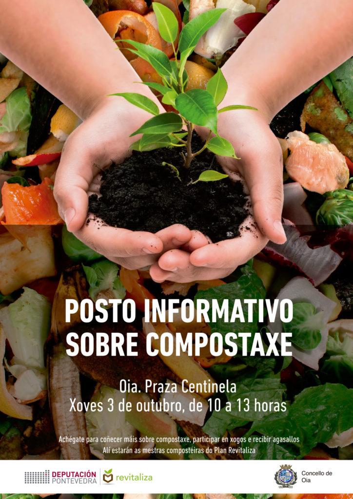 Posto informativo sobre compostaxe este xoves na Centinela