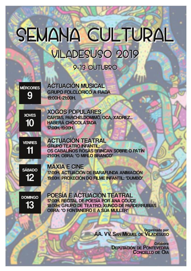 Semana Cultural Viladesuso