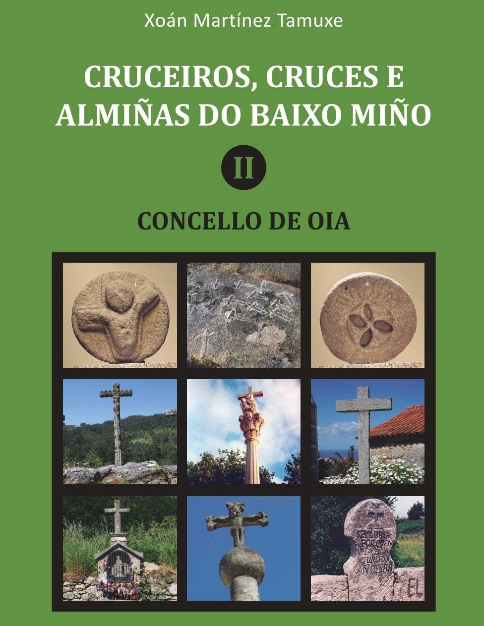 Presentación libro 'Cruceiros, Cruces e Almiñas de Oia', de Xoán Martínez Tamuxe