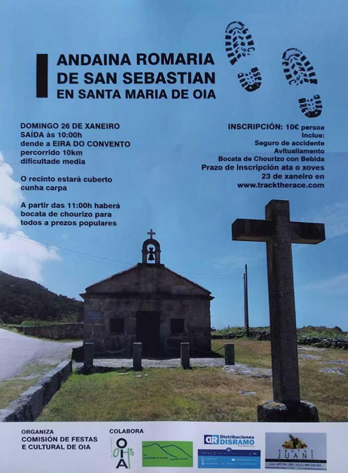 Andaina Romaría de San Sebastián – Sta. María de Oia