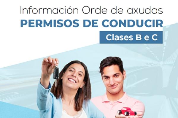 Axudas para a obtención do permiso de conducir B e C