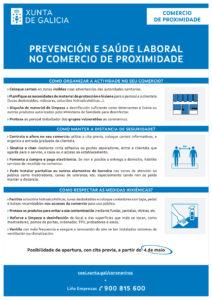 PREVENCIÓN E SAÚDE LABORAL NO COMERCIO DE PROXIMIDADE
