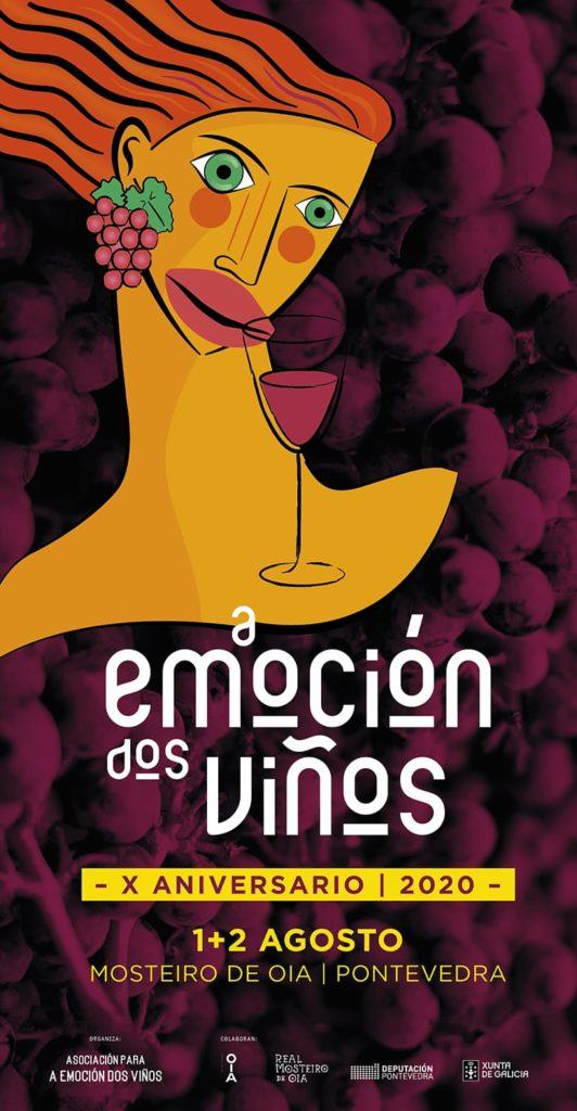 """Oia acolle esta fin de semana o evento """"A emoción dos viños"""""""