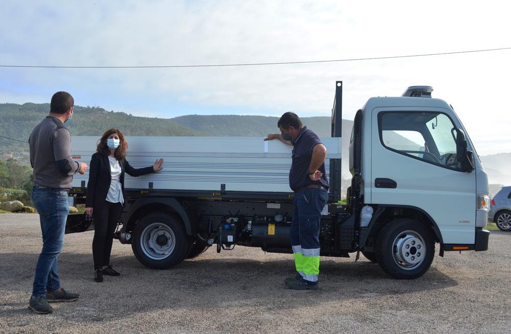 O Concello de Oia incorpora un novo camión multiusos