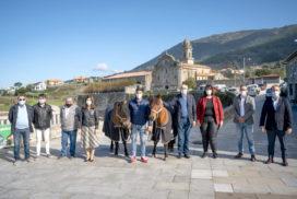 Oia pon en marcha o proxecto 'Do Mosteiro a Santiago'