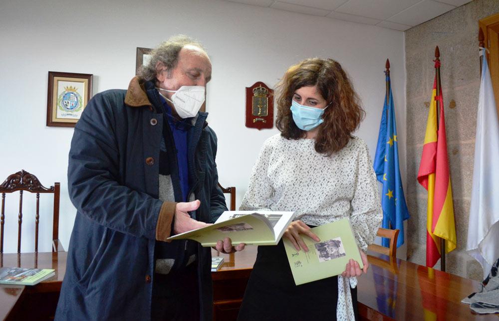 O Concello edita o libro O Mosteiro de Oia e a Virxe do Mar