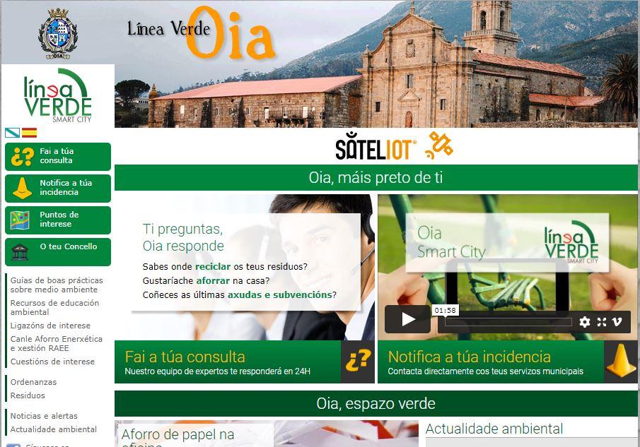 O Concello de Oia xa solucionou o 95% das incidencias recibidas a través da app Línea Verde
