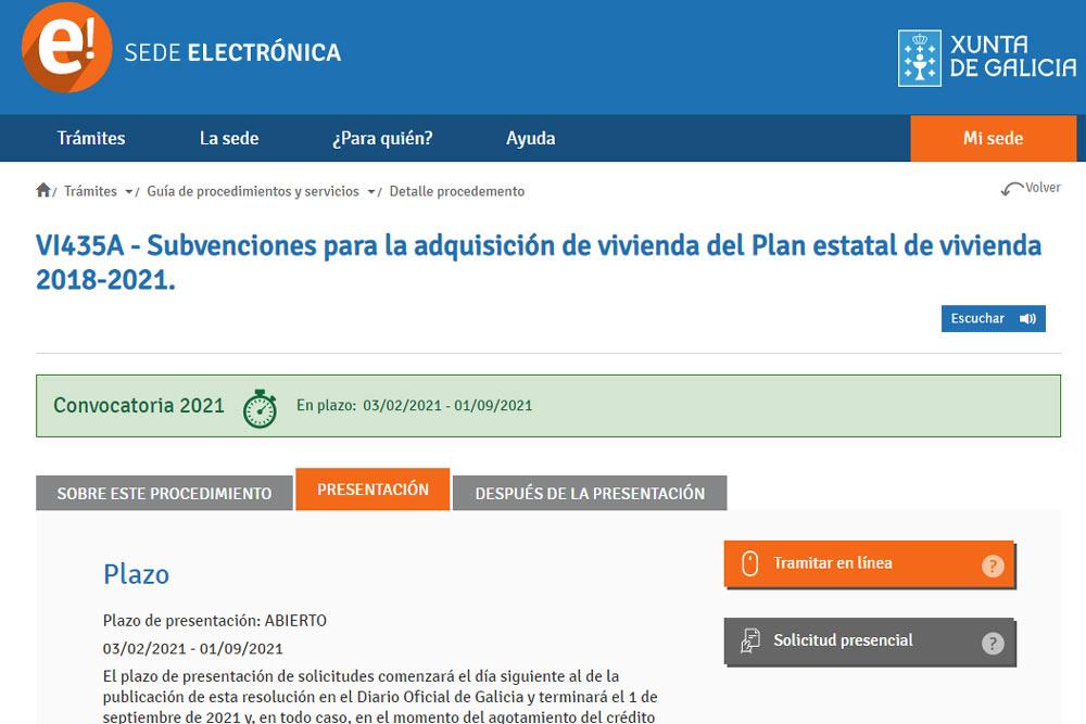 Axudas á adquisición de vivenda en concellos de menos de 5.000 habitantes