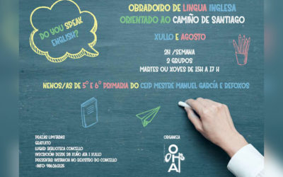 O Concello de Oia organiza un obradoiro de inglés para escolares orientado ao Camiño de Santiago