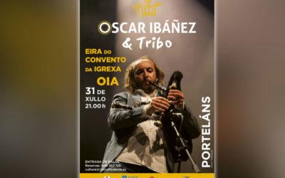 Concerto gratuíto de Óscar Ibáñez o próximo sábado en Oia