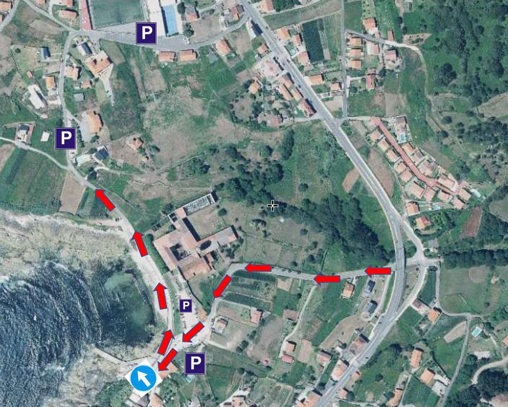 O Concello de Oia informa de cambios de circulación nas rúas de acceso ao Mosteiro durante esta fin de semana