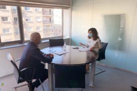 A Área sanitaria de Vigo e o Concello de Oia traballan na mellora da atención sanitaria