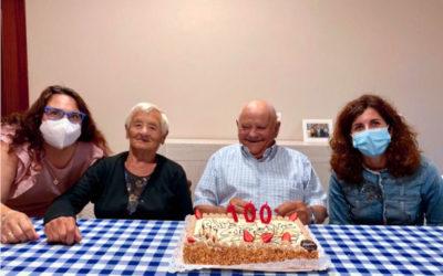 """Abel Diego Acevedo, o """"avó de Oia"""", cumpre 100 anos"""