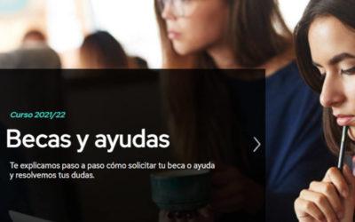 Bolsas para estudantes para o curso 2021-22 (Ministerio de Educación)