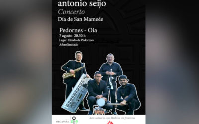 Música este sábado en Loureza e Pedornes para celebrar San Mamede