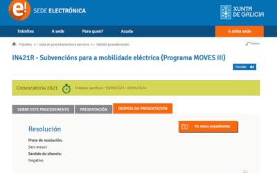 Axudas para a mobilidade eléctrica – Programa Moves III