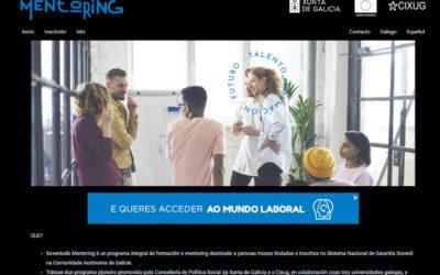 Programa Xuventude Mentoring: formación e mentoría para a inserción laboral