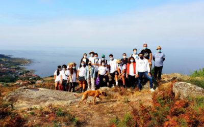 Ponse en valor a difusión arqueolóxica realizada polos participantes do campo de voluntariado de Oia