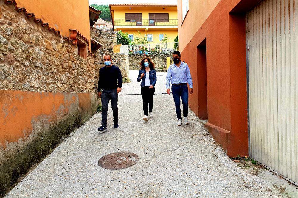 A Xunta acomete a mellora viaria de Laxes de Arriba ao Plan de Infraestruturas rurais cun investimento de 40.000€